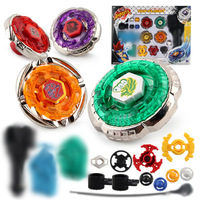 Beyblade Metal Fusion 4D Launcher Grip Set System LOOSE Battle Top Masters Kits Spinning Top Game