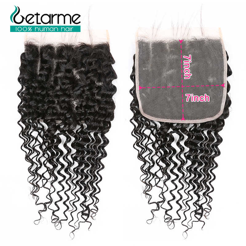 Малазийские глубокая волна пучок s с 7x7 синтетическое закрытие шнурка человеческие волосы пучок s с закрытием Remy 30 дюймов пучок с фронтальным закрытием