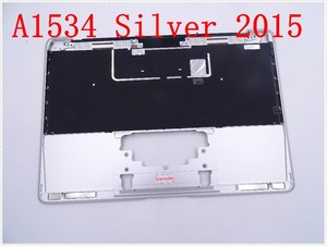"""Image 2 - Original IMIDO Topcase Space Silver  For Macbook 12"""" A1534 Top case with keyboard and backlight 2015"""