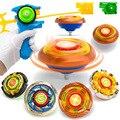 2017 Новые Дети Играют Игрушки Классический Волчок Набор Металл Битва Beyblade Пластиковые Окна Пластины Детские Игрушки Fun Подарков