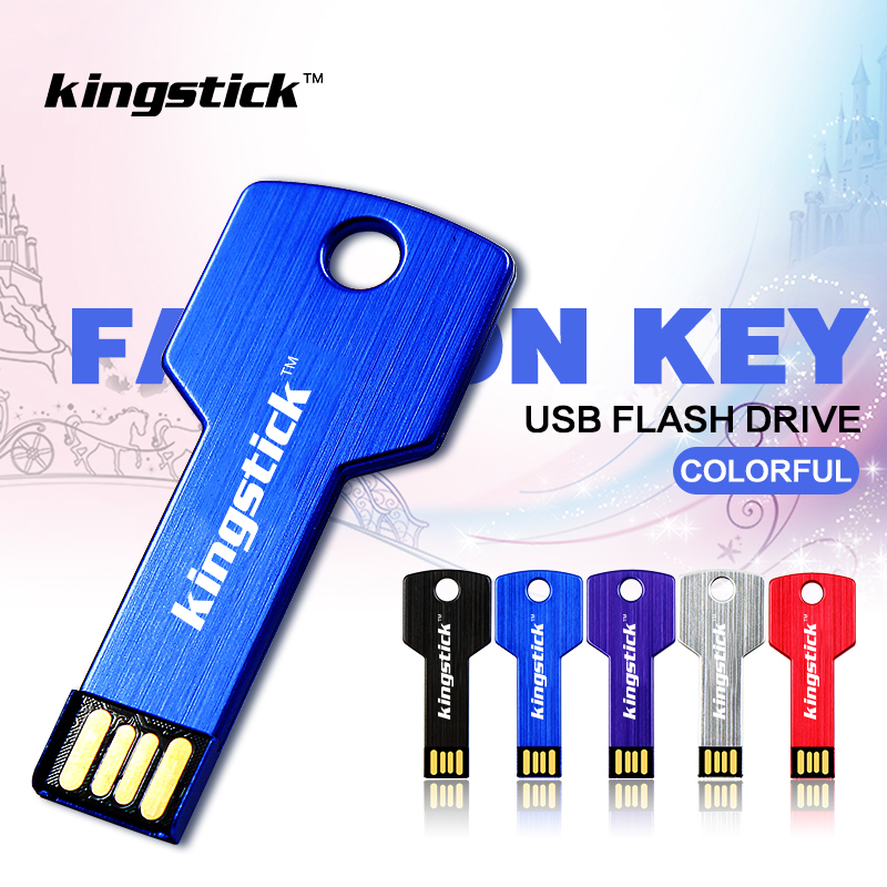 Adaptable Kingstick Keychain Model Usb Flash Drive 8gb 16gb 32gb 64gb 128gb Usb 2.0 Pen Drive Memory Flash Usb Pendrive Stick Buy One Get One Free External Storage