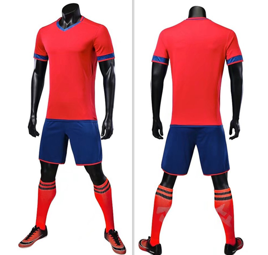 a18e1addf69 ZMSM 2018 High end soccer jerseys Sets Men s Football Training Suit Custom  Soccer uniforms Adult Football Suit Sportswear S6019-in Soccer Sets from  Sports ...