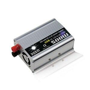 Image 3 - 500 واط سيارة العاكس 12 فولت إلى 220 فولت عاكس الطاقة 12 فولت 220 فولت العاكس محول إمداد الطاقة النقال شاحن يو اس بي