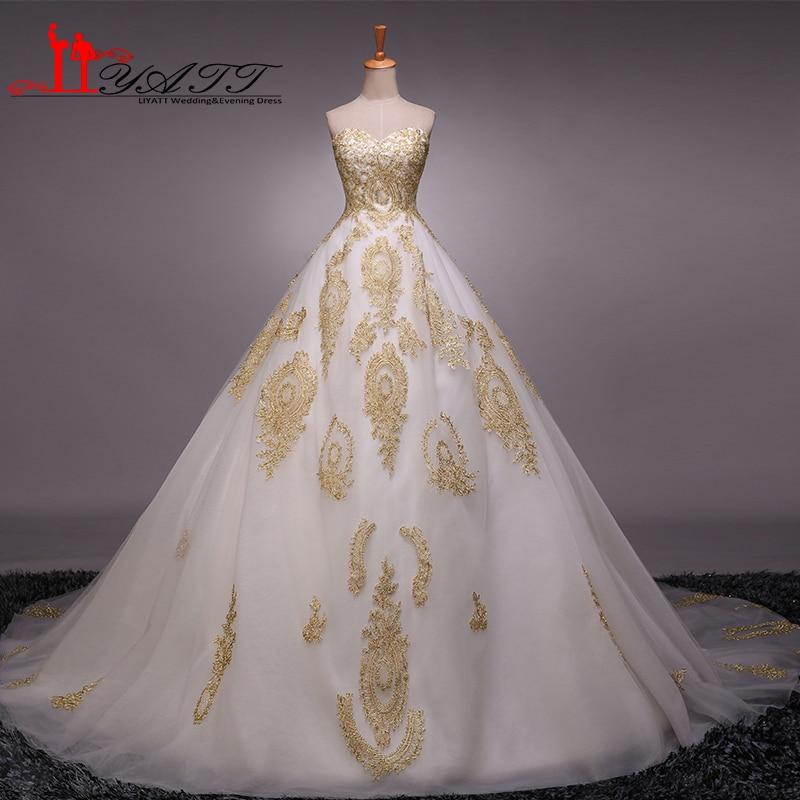 Abendkleider 2016 arabic style vintage gold lace dubai for Wedding dresses in dubai prices