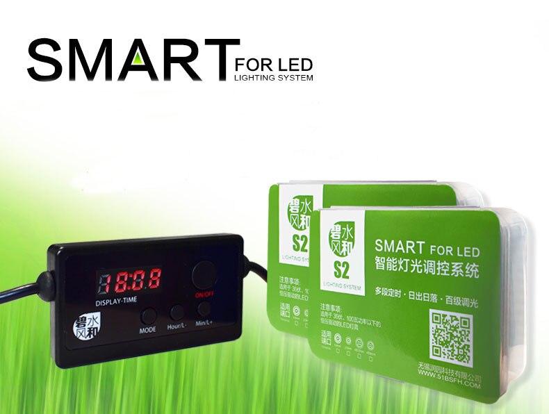 Smart LED controller unendlich variable dimmer sunrise sunset kompatibel Chihiros eine reihe RGB plus C LED dimmer timer 4 in 1