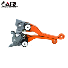 JAER Dirt Pit Bike Pivot DirtBike Brake Clutch Levers For Yamaha SEROW225/250 1986 2018 TRICKER 2004 2017 DT230LANZA 1997 1999