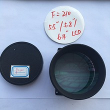 focal length F210 DIY projector glass lens for 5.8, 5.9,5.5, 4.6, 4.3, 3.5, 3.2, 3 inch projector/projection diy kit home cinema
