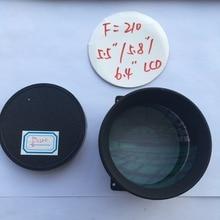 1 unidades F210 DIY lente del proyector para el 7, 5.8, 5.9, 5.5, 4.6, 4.3, 3.5, 3.2, 3 pulgadas proyector/proyección de bricolaje