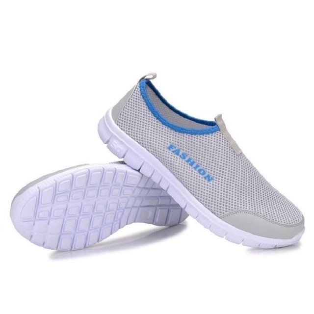 Summer Flats Women Shoes Lazy Network Foot Wrapping Breathable Mesh Loafers Size 46 A752