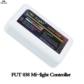 2.4G LED RGB Controller Touch Remote Control DC12-24V For RGB LED Strip bulb downlight For RGB / RGBW 4 Grouping RF Receiver 2 4g touch screen led rgb rgbw controller wireless dc12 24v touch rf control for rgb rgbw led strip 18a remote controller