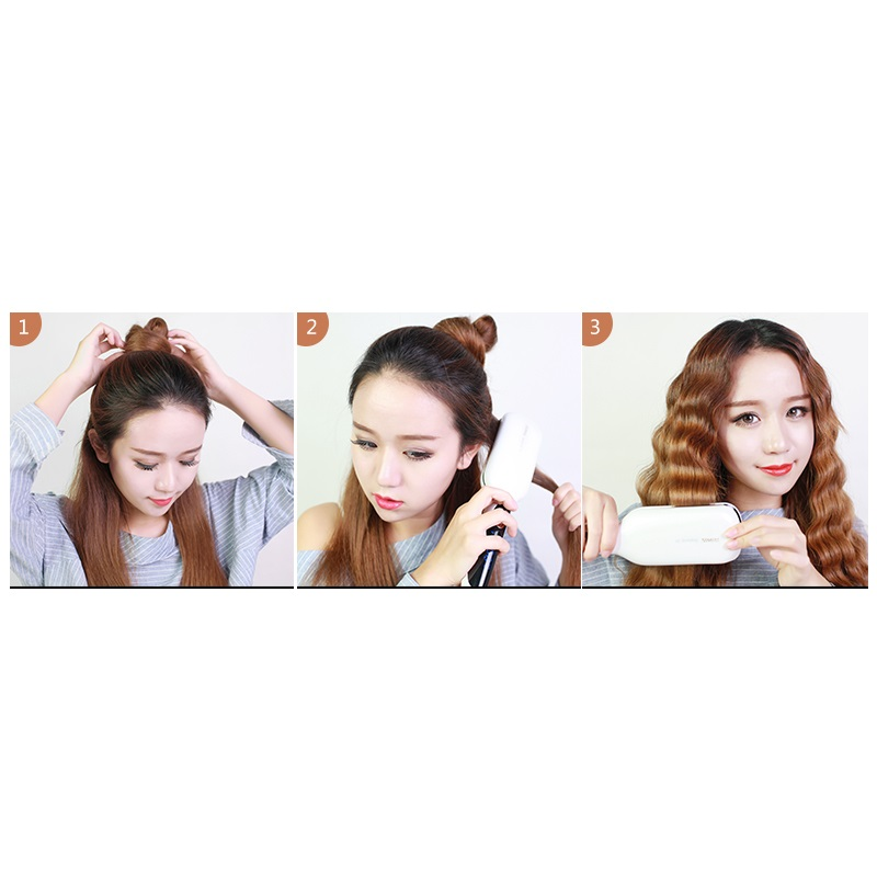 220V Multi Gear Good Quality Electric Hair Curler 28MM Hair Waver Styler Curling Iron Machine No Hurting Hair Easy To Use ckeyin 9 31mm ceramic curling iron hair waver wave machine magic spiral hair curler roller curling wand hair styler styling tool