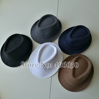 Black Fedora Jazz Cap 3