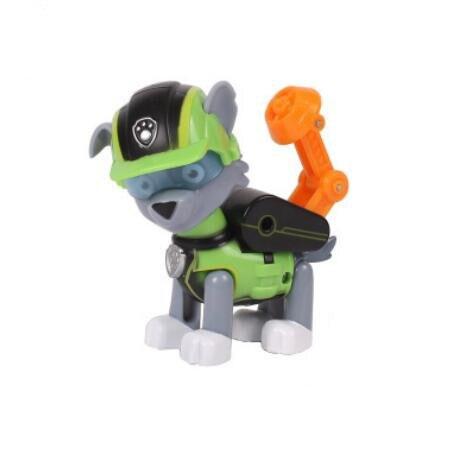 Подлинный Щенячий патруль, Щенячий патруль, Patrulla Canina, игрушки, фигурки, модель игрушки, Chase Marshall Ryder, автомобиль, детская игрушка - Цвет: NO Box