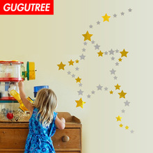 Decorate star art wall sticker decoration Decals mural painting Removable Decor Wallpaper LF-1753