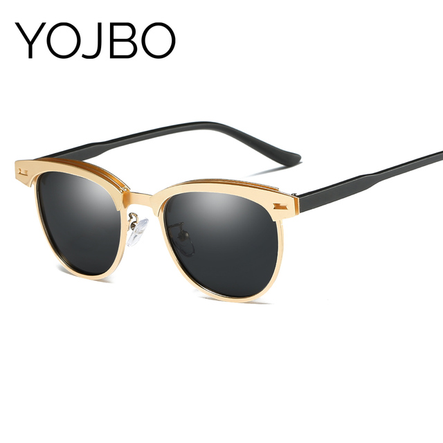 YOJBO Aviator Luxury Brand Sunglasses Men-Women Vintage Shades