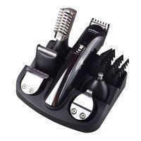 Kemei Rechargeable Hair Trimmer Titanium Hair Clipper Shaver Beard Trimmer Men Styling Tools Shaving Machine