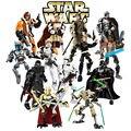 КСЗ Звездные войны Дарт Вейдер Генерал Гривус Коммандер Коди Фигура Игрушки Строительные Блоки Игрушки Для Детей