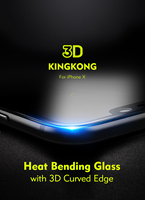 For Iphone X Iphonex Full Screen Protector Benks XPRO King Kong Series 3D Curved Edge Tempered