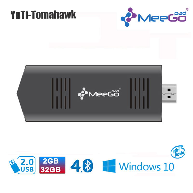 MEEGOPAD T02 2GB/32GB Optional Ubuntu / Windows10 Mini PC Computer stick Quad Core Intel Z3735F HDMI TV Box ainol mini pc windows 8 1 quad core intel z3735f tv box 7000mah power bank page 3