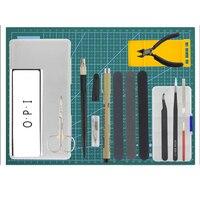 18Pcs for Gundam Model Tools Kit Modeler Basic Tools Craft Set Hobby Building Tools Kit