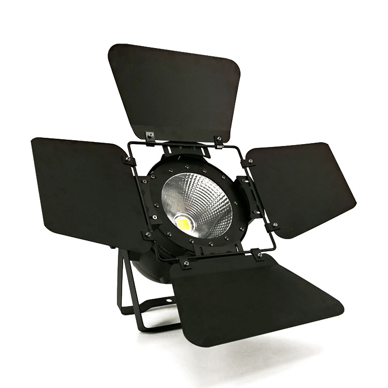 LED Par COB 200W RGBW 4in1 Light DMX512 LED Lamp Stage Lighting Concert Productions And Lighting Professionals With Barn Doors show plaza light stage blinder auditoria light ww plus cw 2in1 cob lamp 200w spliced type for stage