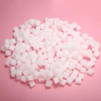 300 sztuk worek 10*10mm symulacja galaretki kostki zabawki dziewczyna rzemiosło DIY zabawki materiał dla DIY szlam galaretki Cube przezroczysty Slime tanie i dobre opinie Other Mieszanina Z tworzywa sztucznego