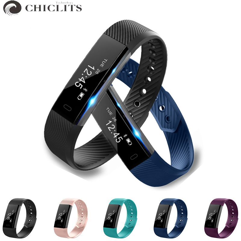 цены  Smart Fitness Bracelets Sport Passometer Tracker Smart Bracelet Watch Alarm Clock Vibration Bluetooth Wristband for Android IOS