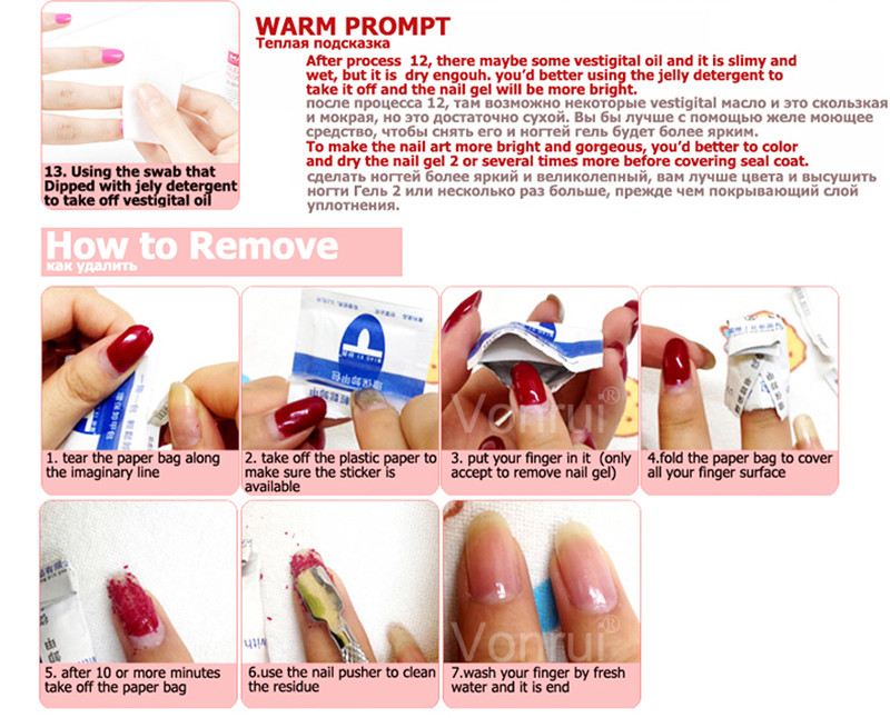 shining french polish acrylic extension chameleon hot nail gel ...