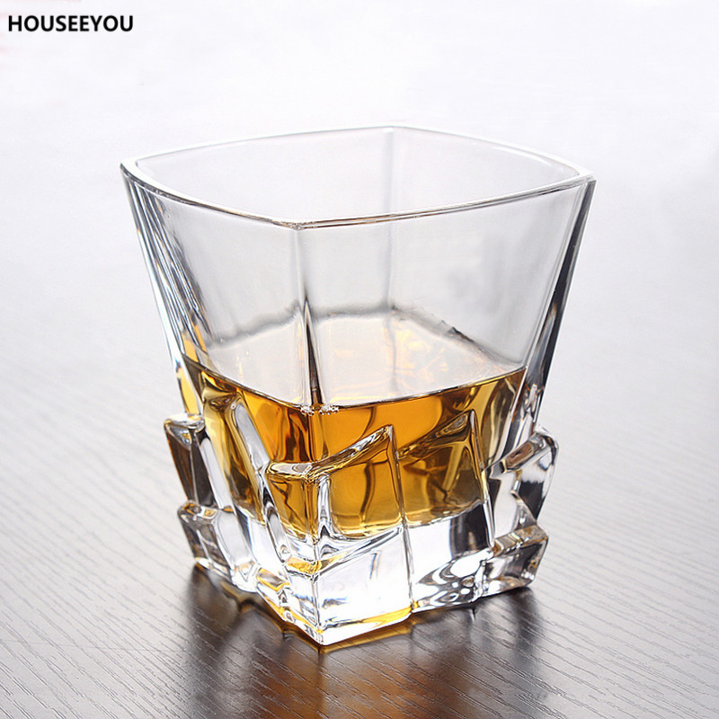 Kristallen Whiskey Glazen.Us 11 19 20 Off Transparante Creatieve Reliefs Gesneden Kristal Whiskey Glas Cup Wijnglas Bier Thee Sap Glas Mok Hittebestendige Imitatie Ijs In