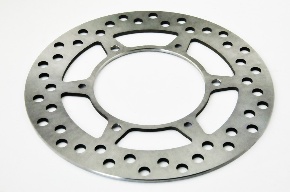 LOPOR Motorcycle Front Brake Disc Rotor Fit For Kawasaki KLX125 B1-B3 B6F 03-06 Also Fit Suzuki DR-Z250 DR-Z 250 LK3-LK9 03-09 mfs motor motorcycle part front rear brake discs rotor for yamaha yzf r6 2003 2004 2005 yzfr6 03 04 05 gold