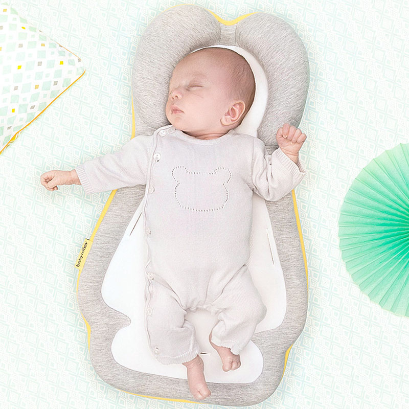 Baby Stereotypes Pillow Newborn Anti-rollover Mattress Pillow For 0-12 Months  Infant Sleeping Positioning Pad Cotton Pillow