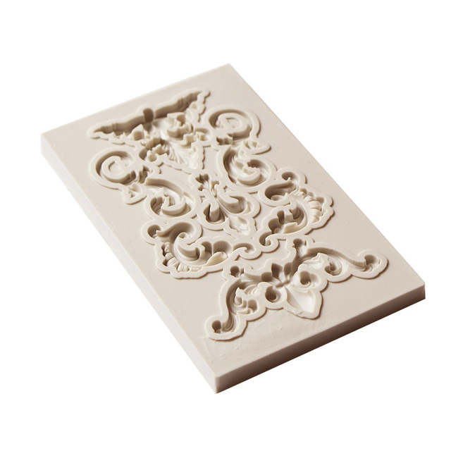 Yueyue Sugarcraft 1 piece Border silicone mold fondant mold cake decorating tools chocolate gumpaste mold