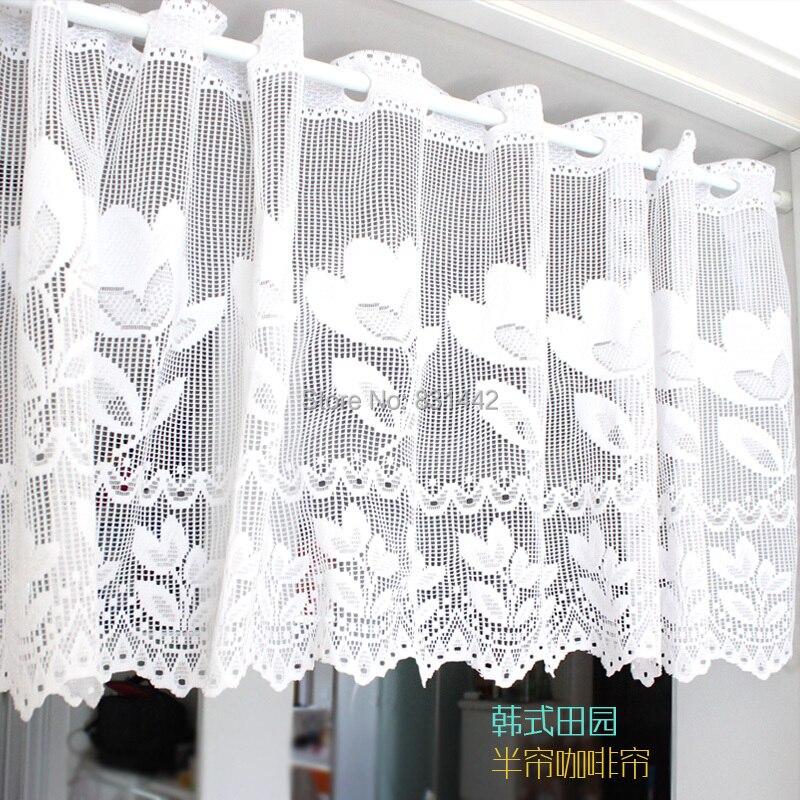 tienda online variedad de anchos alta bordado cortina para cocina tela cenefa para balcn pequea ventana de la cortina tende cucina aliexpress mvil