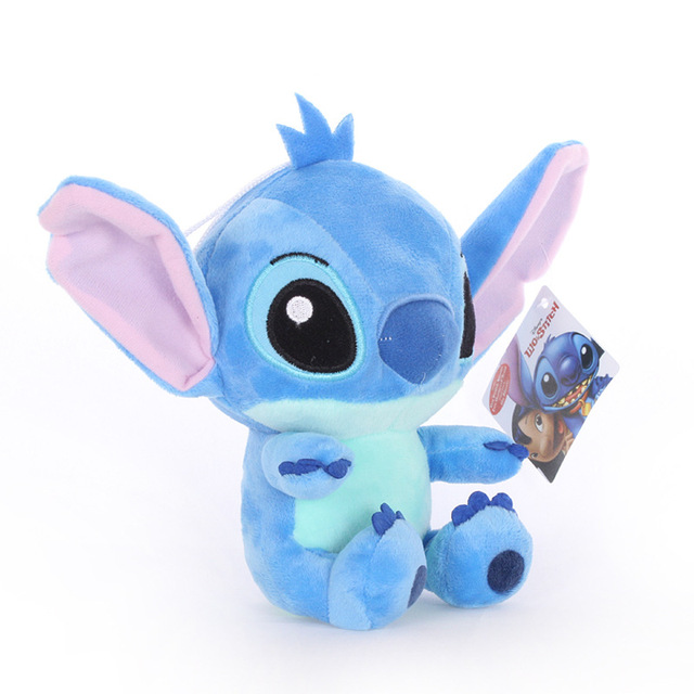1PC Cartoon Stitch Lilo & Stitch Plush Toy Doll Children Stuffed Toy For Baby Kids Birthday Christmas Children Kid Gifts 2