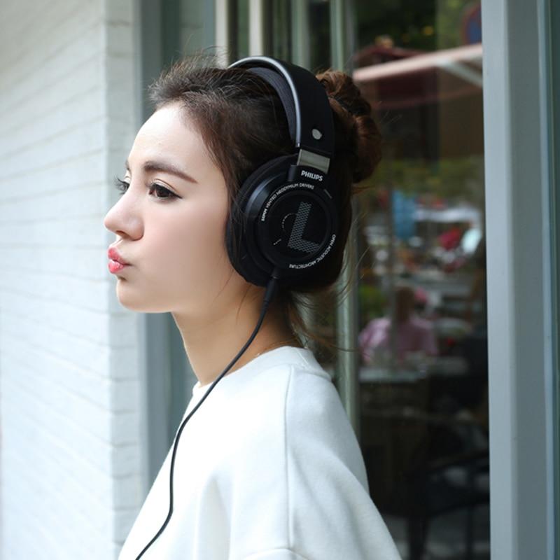 Philips SHP9500 Auricolare Professionale con 3 m di Lunghezza del Filo Cuffie di riduzione del Rumore per xiaomi SamSung S8 MP3 Test Ufficiale - 6