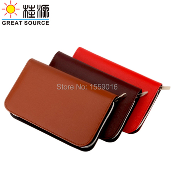 Wallet padfolio 2021 planner A6 Portfolio Ring binder notebook 2021 weekly notepad 2021 canlendar Clear Pen Bag Color Sticker фото