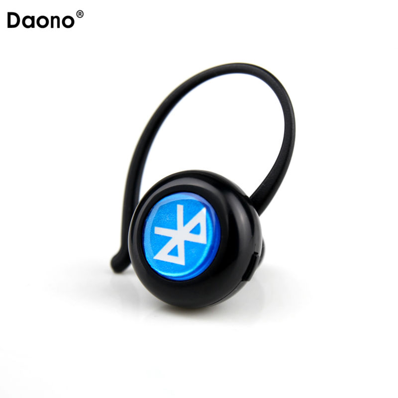 Daono Mini Bluetooth Headset Wireless Bluetooth Earphone Earbuds Sport Driving Music Stereo Earphone for iPhone Samsung Xiaomi remax 2 in1 mini bluetooth 4 0 headphones usb car charger dock wireless car headset bluetooth earphone for iphone 7 6s android