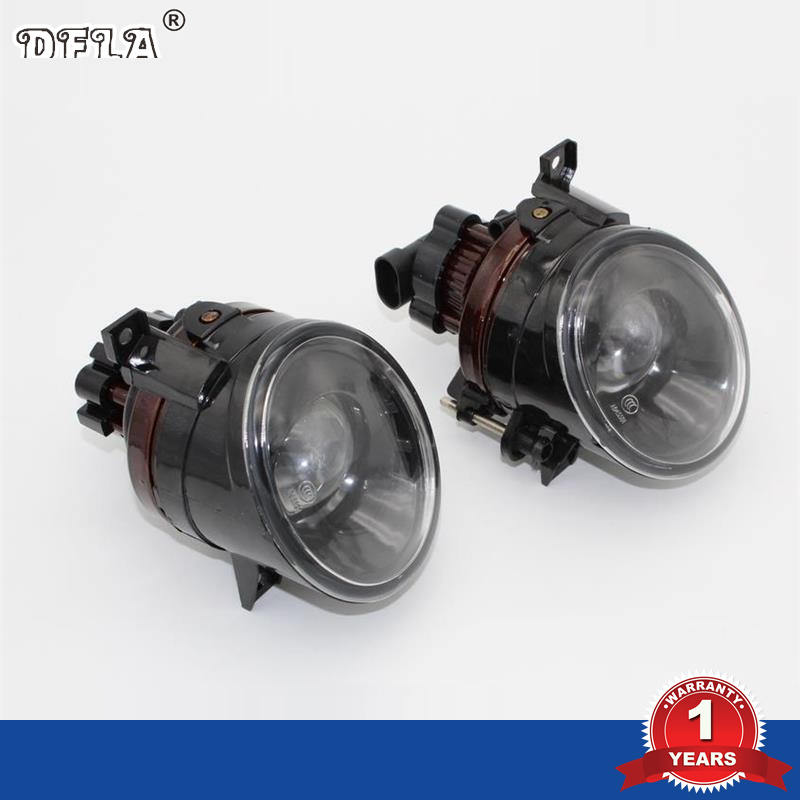 For VW Golf 5 MK 5 GTI 2004 2005 2006 2007 2008 2009 Front Bupber Halogen Fog Light Fog Lamp With Convex Lens for vw golf 5 2004 2005 2006 2007 2008 2009 high quality 9 led left side front fog lamp fog light