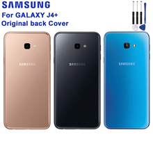 Samsung Original Battery Back Cover Door Plastic Case For Samsung Galaxy J4+ Rear Housing Protective Back Cover Phone Case стоимость