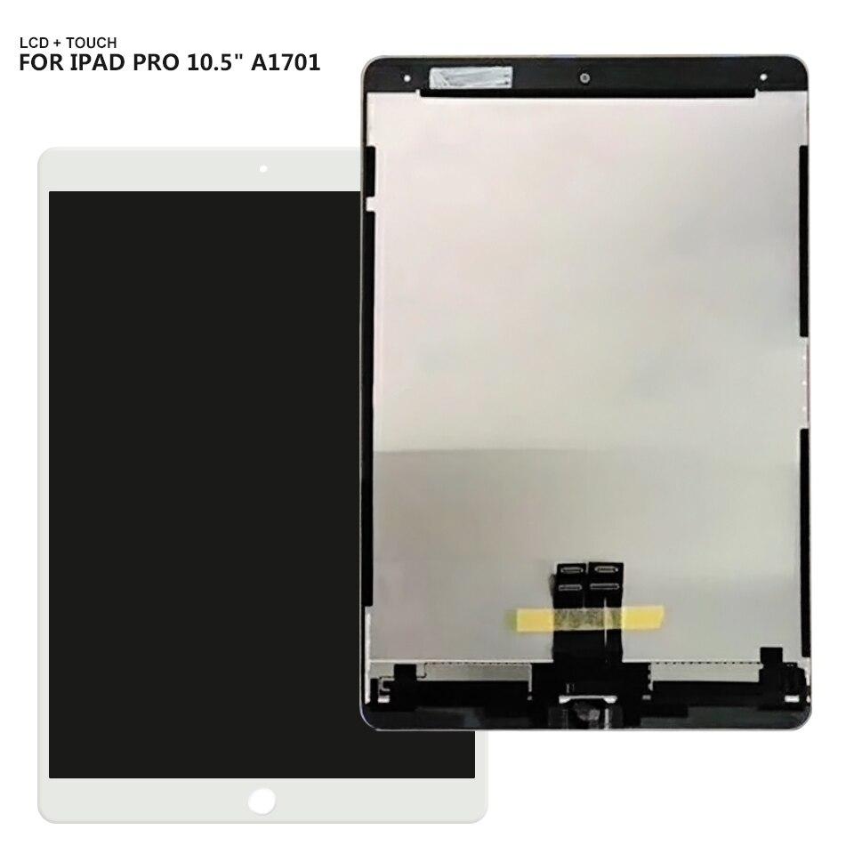 10,5 ЖК для iPad Pro 10,5 A1701 A1709 ЖК дисплей сенсорный экран дигитайзер стекло в сборе Бесплатная доставка