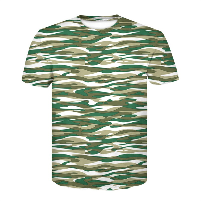 Compress T-shirt Tactical Quick Dry Camouflage Tee Shirts Men Clothes Military Army Hunter Combat Camo Short Sleeved T-shirts