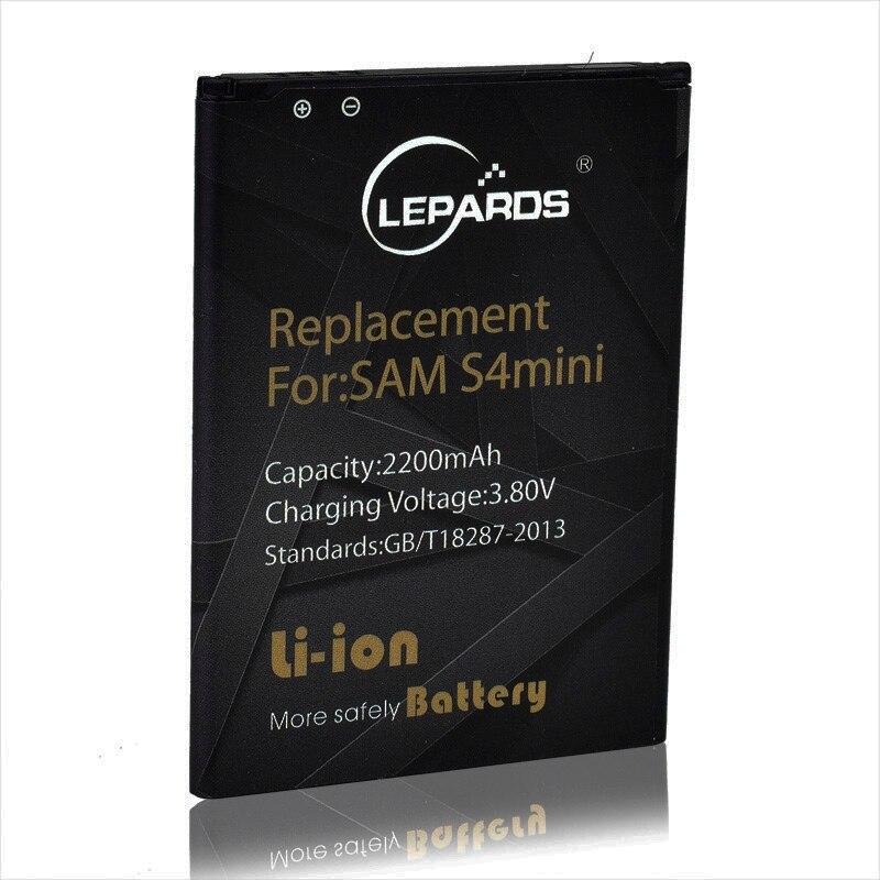 Оригинальный lepards B500BE Батарея для <font><b>Samsung</b></font> Galaxy S4 мини Батарея для Galaxy S4 мини I9192 I9190 мобильный телефон Батареи