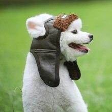 Зима теплая шапка для собак Щенок теплые удобные красивый Poilt Кепки осень-зима кашемир