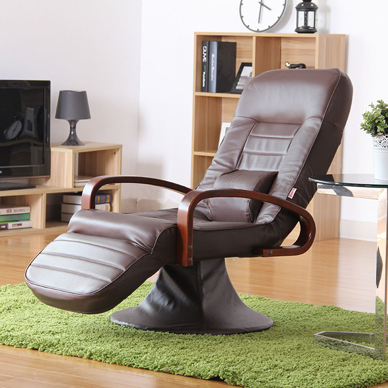 Computer Chair Leather Brown 360 Degree Swivel Modern Home Office Furniture Reclining Comfortable Executive Chair Design free shipping computer chair net cloth chair swivel chair home office