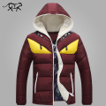 2017 New Brand Men's Winter Jackets and Coats Fashion Hooded Men Jacket Causal Warm Coats for Male Thick Overcoats Cotton Padded