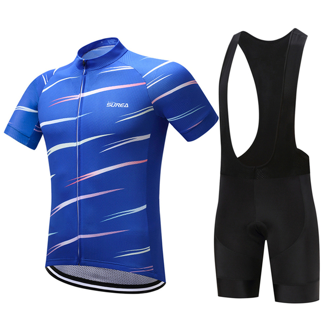 FUALRNY Mottled 2018 Pro Cycling Jersey Set Summer MTB Bike Clothes Short  Sleeve Bicycle Clothing Set Ropa Maillot Ciclismo f0f957104