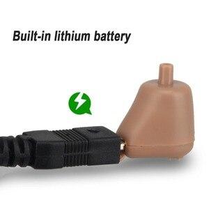 Image 4 - OLIECO şarj edilebilir kablosuz İşitme cihazı Mini Ultra küçük görünmez ses amplifikatörü ayarlanabilir kulak ses geliştirme sağır yardım