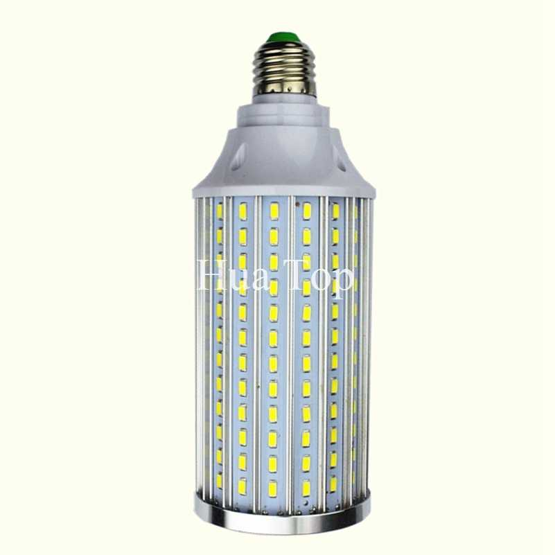 High Power Aluminum 5730 SMD LED Corn Bulb 85-265V E27 15W 20W 30W 40W 50W 60W 80W Led lamp Warm Cold White free shipping 1pcs