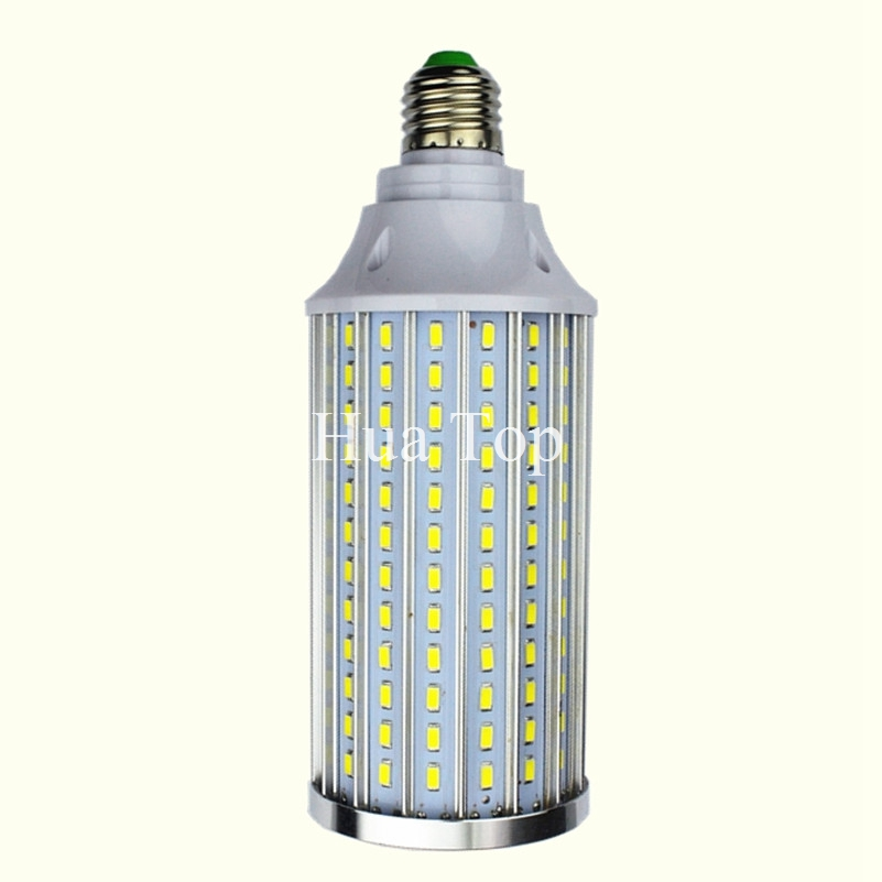 High Power Aluminum 5730 SMD LED Corn Bulb 85-265V E27 15W 20W 30W 40W 50W 60W 80W Led lamp Warm Cold White free shipping 1pcs цена 2017