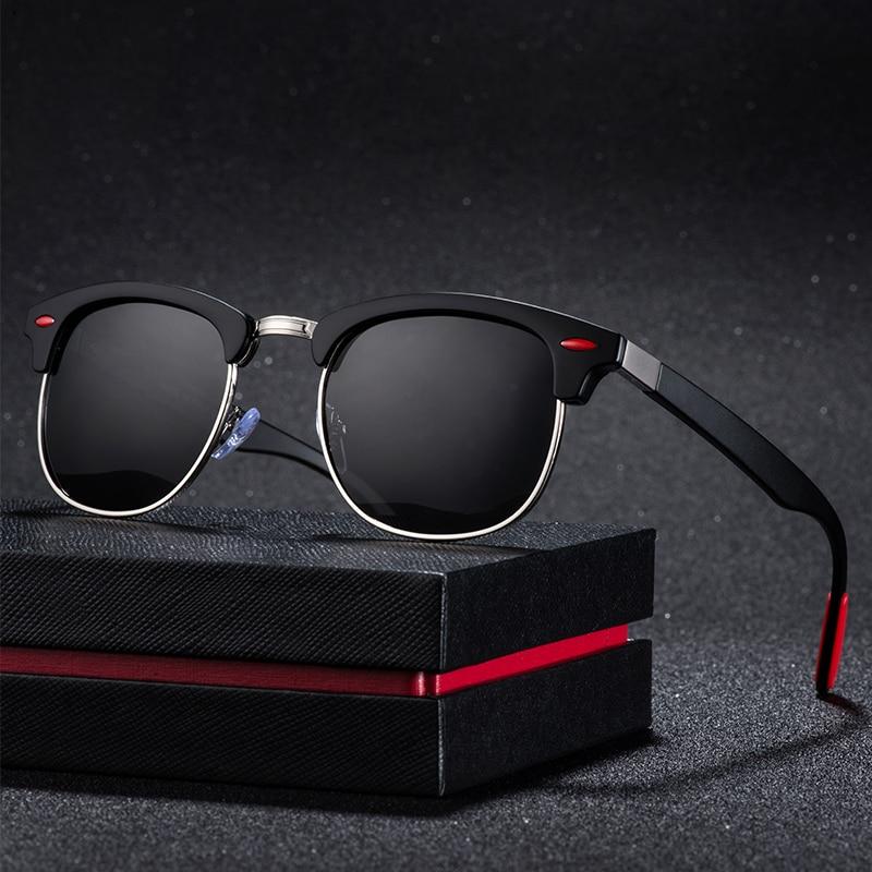 Polarized Sunglasses Men Classic Design All-Fit Mirror Sunglass Women sunglasses (13)